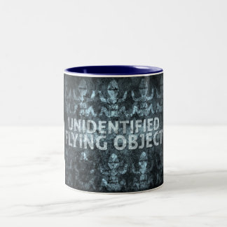 Unidentified Flying Object Two-Tone Mug