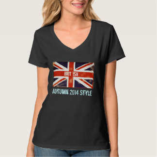 Union Jack Brit 'Ish Autumn 2014 Style T-Shirt