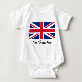 Union Jack Flag of Great Britain Toddler Infant Tee Shirts