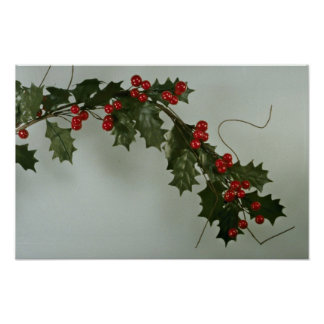 Unique Holly gift for special occasions Poster