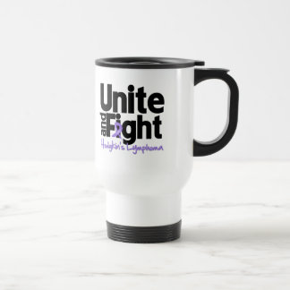 Unite and Fight Hodgkin's Lymphoma Stainless Steel Travel Mug