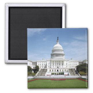United States Capitol Building Square Magnet
