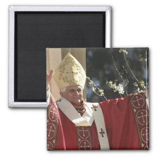United States, Washington, D.C. Pope Benedict 2 Square Magnet