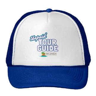 Unpaid Tour Guide's Official Cap (blue)