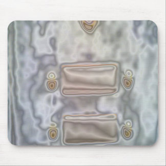 Unusual pattern mouse pad