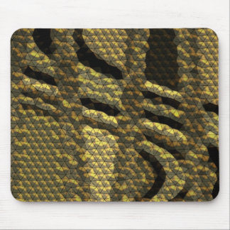 Unusual tile pattern mouse pad