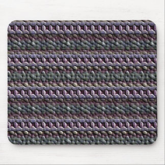 Unusual trendy pattern mouse pad