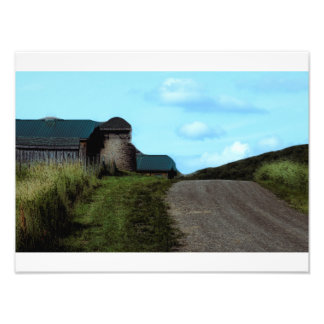 Up and over the hill art photo