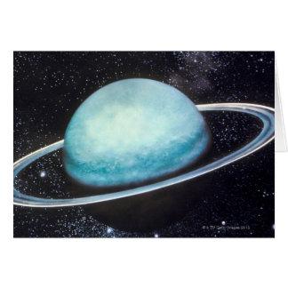Uranus Greeting Card