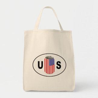 US Beer Grocery Tote Bag