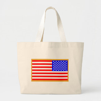US Flag Jumbo Tote Bag