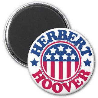 US President Herbert Hoover 6 Cm Round Magnet
