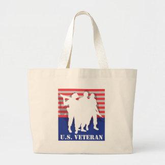 US Veteran Jumbo Tote Bag