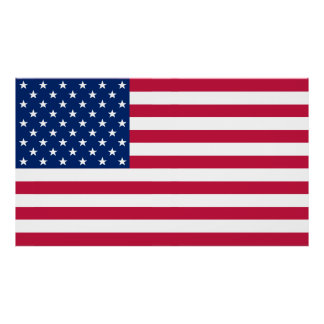 USA American Flag Home Office Wall Decor XL Poster