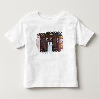 USA, Arizona. Chloride Ghost Town, old gas T-shirts