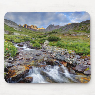 USA, Colorado. Sunrise On Stream 2 Mouse Pad