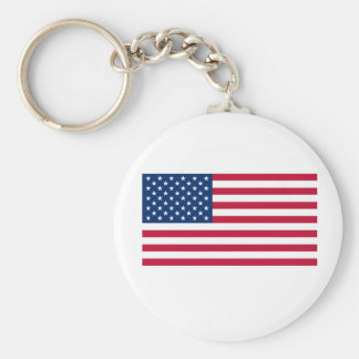 USA Flag Keychain
