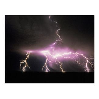 USA, Idaho. Lightning. Postcard