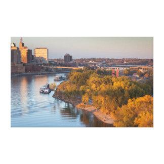 USA, Minnesota, Minneapolis, St. Paul Canvas Prints