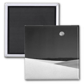 USA, New Mexico, White Sands National Monument. Square Magnet