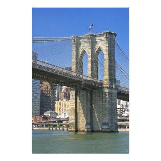 USA, New York, New York City. Brooklyn Bridge Photo
