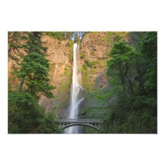 USA, Oregon, Columbia River Gorge, Multnomah Photo Print
