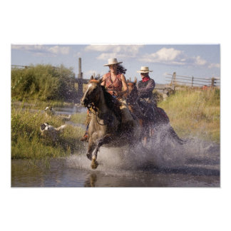 USA, Oregon, Seneca, Ponderosa Ranch. Cowboy 2 Photo