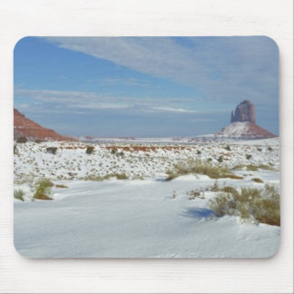 USA, Utah, Monument Valley. Sagebrush shows Mouse Pad