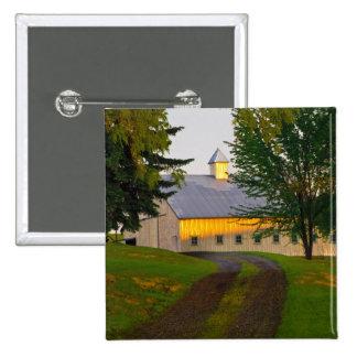 USA, Washington, The Palouse 15 Cm Square Badge