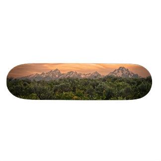 USA, Wyoming, Grand Teton National Park 1 18.1 Cm Old School Skateboard Deck
