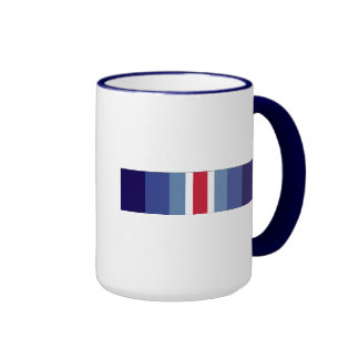 USCG Restricted Duty Ribbon Ringer Mug
