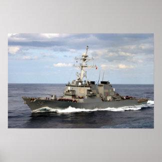 USS John S. McCain (DDG 56) Poster