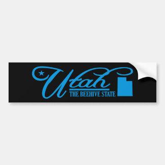 Utah (State of Mine) Bumper Sticker