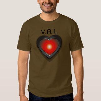 V.A.L. 9000 Love Machine Tee Shirts