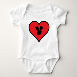 V twin infant creeper