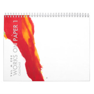 VAL M COX CALENDAR - WORKS ON PAPER 1-INTL