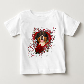 Valentines - Key to My Heart -Bernese Mountain Dog Tshirt