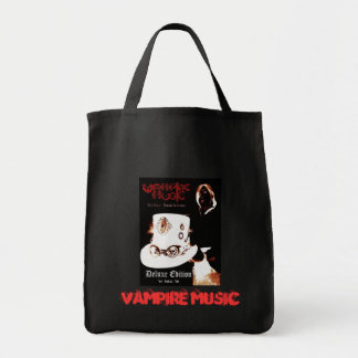 Vampire Music Deluxe Tote Grocery Tote Bag