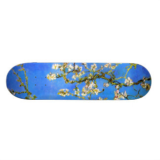 Van Gogh: Blossoming Almond Tree Branches 20.6 Cm Skateboard Deck