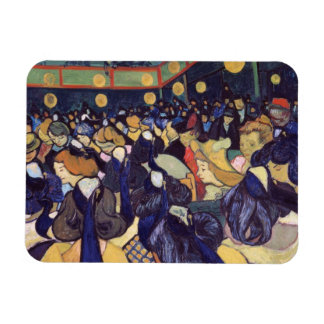 Van Gogh - Dance Hall In Arles Rectangular Photo Magnet