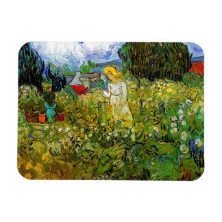 Van Gogh - Marguerite Gachet In The Garden Rectangular Photo Magnet