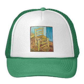 Van Gogh's Chair by Vincent van Gogh Cap