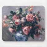 Vase of Roses Mouse Pad