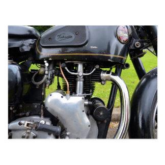 Velocette Engine Postcard