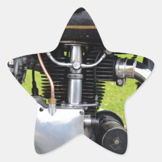 Velocette Engine Star Sticker