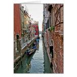 Venice Alleyway Greeting Card