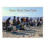 Venice Beach Drum Circle Postcard! Postcard