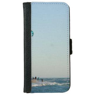 Venice Beach Kite Surfers iPhone 6 Wallet Case