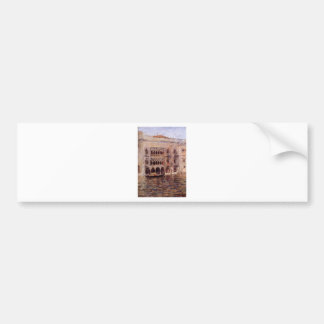 Venice by William Merritt Chase Bumper Sticker