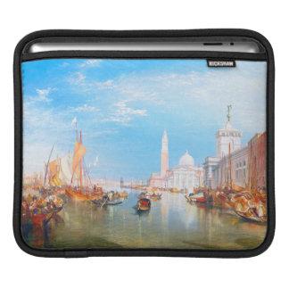 Venice, Dogano and Santa Maria della Salute art iPad Sleeves